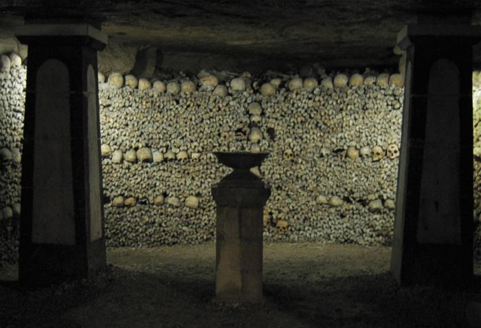 Thanatourism catacombs